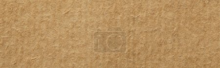 Photo for Top view of vintage beige paper texture with copy space, panoramic shot - Royalty Free Image