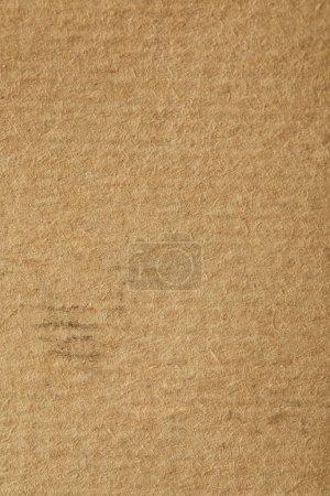 Photo pour Top view of vintage beige paper texture with copy space - image libre de droit