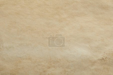 Photo for Top view of vintage beige paper texture with copy space - Royalty Free Image