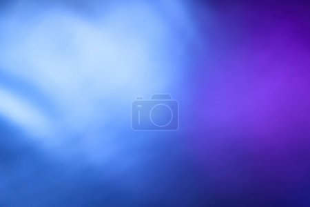 Photo for Creative abstract background from mixed water and oil in blue and purple color - Royalty Free Image