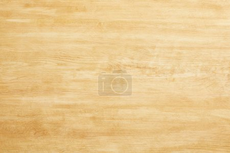 Photo for Top view of beige wooden empty texture - Royalty Free Image