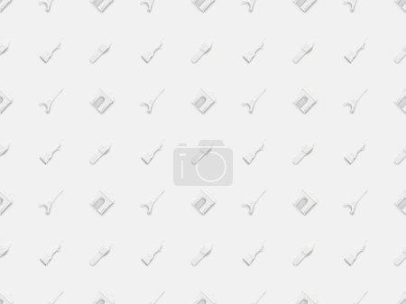 Photo pour Vue de dessus de petites figurines de différents pays isolées sur blanc - image libre de droit