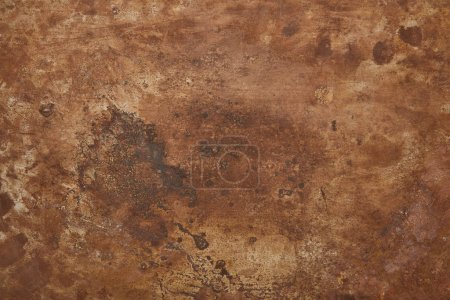 Photo for Top view of background with brown stone texture - Royalty Free Image