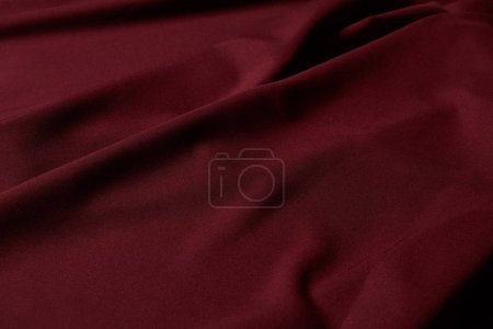 burgundy soft and crumpled textured cloth