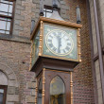 Постер, плакат: vintage steam clock tower
