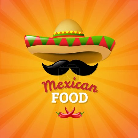 Mexican Food theme, Vector Illustration...
