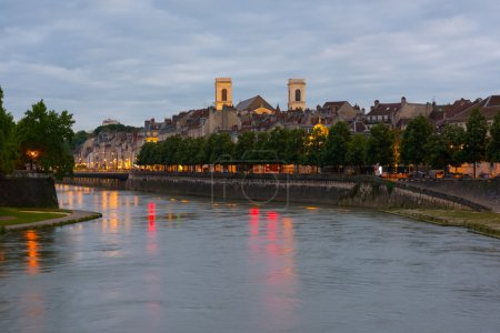 Besancon in a summer evening