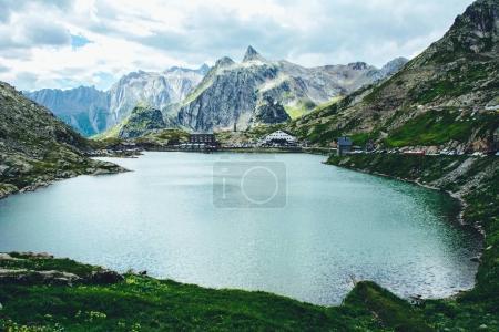 St Bernard pass and St Bernard abbeys, Switzerland
