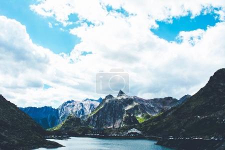 St Bernard pass in Switzerland.