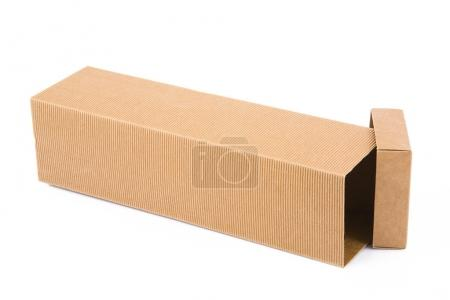 Photo for Carton box on white background - Royalty Free Image