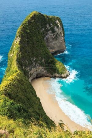 Tropical mountains of Nusa Penida