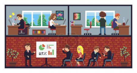 Pixel Art Office