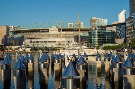 Etihad Stadium in Melbourne Docklands