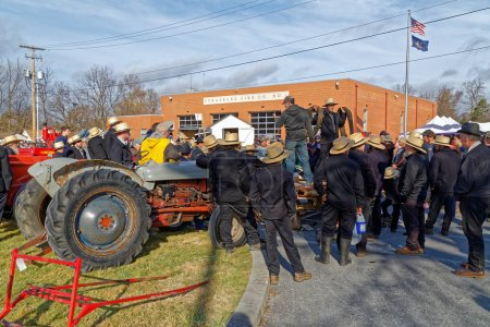 Amish Mud Sale to Benefit the Fire Company