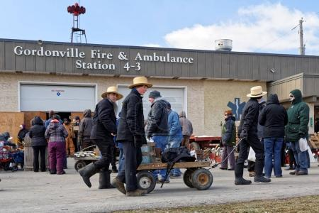 Amish Mud Sale at Fire Station
