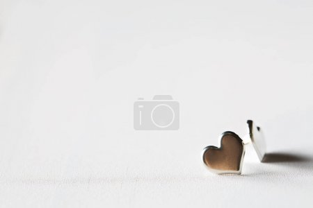 Small metal hearts