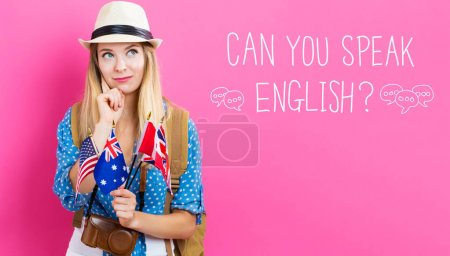 Can You Speak English text