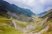 Nézd a Fogarasi hegyi úton Romániában