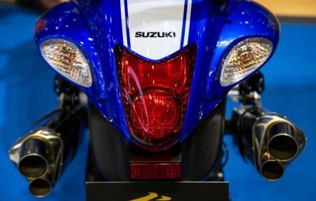 Suzuki GSX 1300R Hayabusa tail