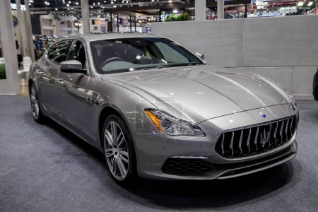 Maserati Quattroporte Luxury Sedan