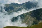 Gyönyörű hegyi nyári táj. A Fogarasi-havasok, Románia