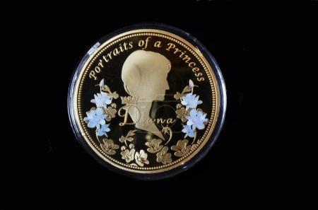 Illustrative Editorial.American commemorative coin.