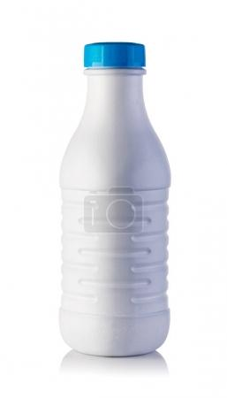 Photo for Milk bottle on a white background - Royalty Free Image