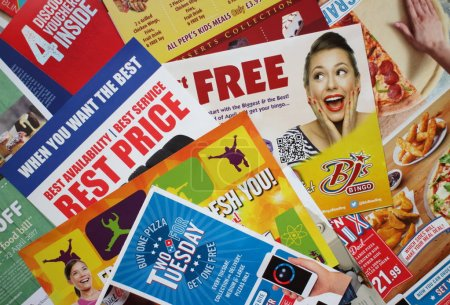 Junk Mail Leaflets and Marketing