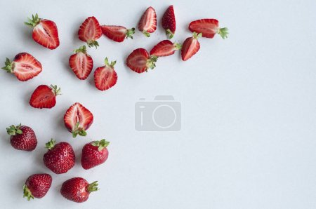 delicious fresh strawberries