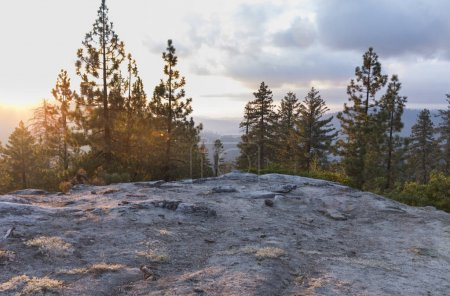Photo for Picturesque view of majestic mountains in Yosemite national park - Royalty Free Image