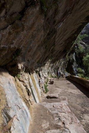 Photo pour Weeping Rock sentier dans le Parc National de Zion - image libre de droit