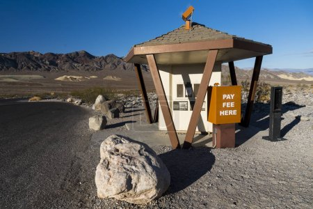 Death valley pay fee