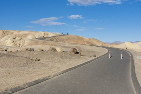Zabriskie point  in California
