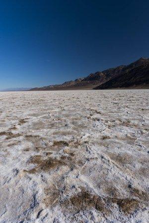 Photo pour Bassin Badwater dans le parc national de la vallée de la mort - image libre de droit