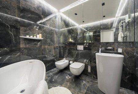 Luxury bathroom in modern style