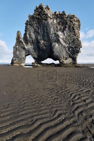 Hvitserkur basalt formation