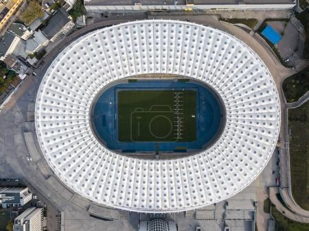 Aerial photo of stadium