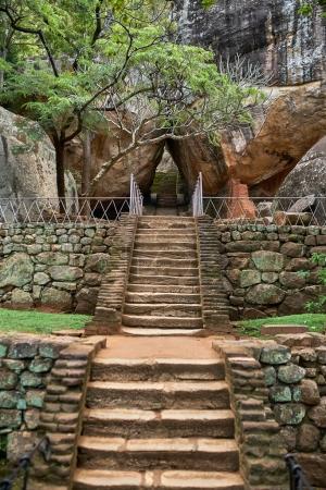Citadel of Sigiriya Lion Rock
