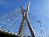 Sao Paulo cable-stayed bridge