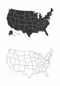 Maps of the USA