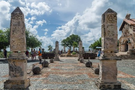 The open square in front of the church of St. Stanislav