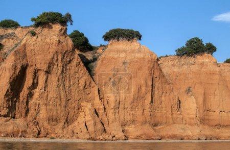Seaside coastal erosion