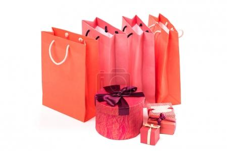 Gifts and shopping bags