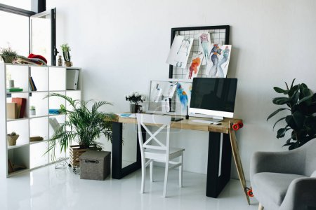 fashion designer workplace