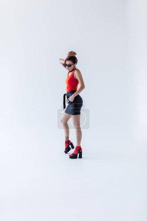 attractive stylish girl