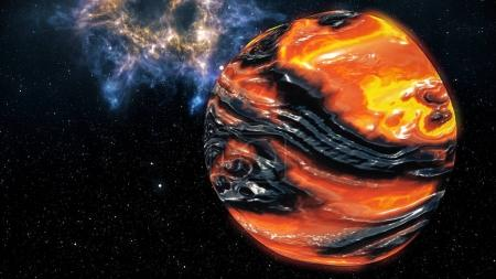 Genesis Birth of a Planet Concept