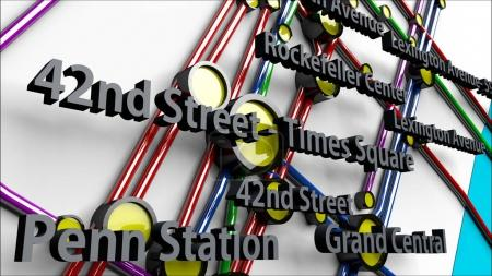 Subway Lines and Stations of New York City subways Brooklyn Quee
