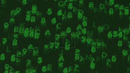 Digital Coding Calculations on a Low Resolution Retro Monochrome