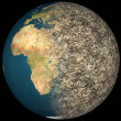 Dying Earth Global Warming Heavy Pollution Affecte...