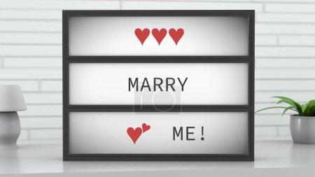 Marry Me Lightbox
